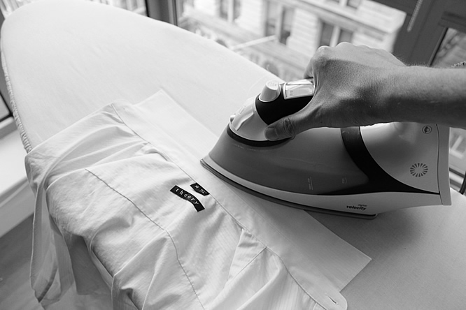 how to iron a dress shirt correctly the dude society an online magazine for guys. Black Bedroom Furniture Sets. Home Design Ideas